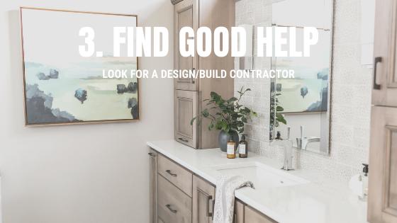 Bathroom design and remodeling help