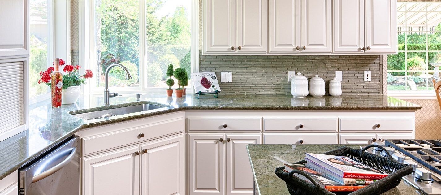 Cosmetic kitchen after remodeling